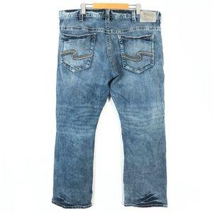 Silver gordie jeans 42x32
